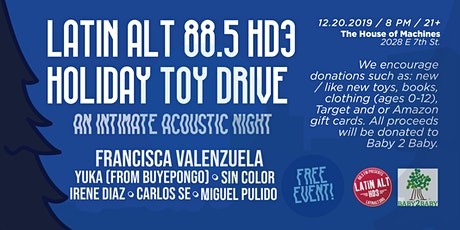 Latin Alt 88.5 HD3 Holiday Toy Drive tickets