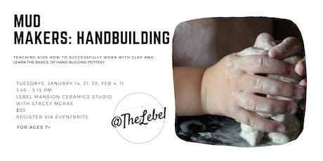 Mud Makers: Children's Handbuilt Pottery Class tickets