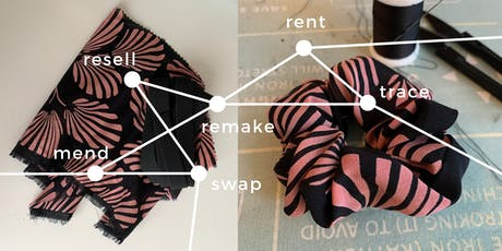 Remake & Upcycle: Scrunchie Making, Embroidery, MOR! tickets