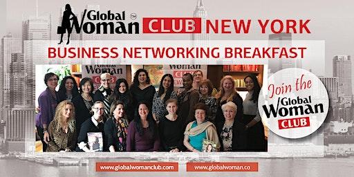 GLOBAL WOMAN CLUB NEW YORK: BUSINESS NETWORKING BREAKFAST - FEBRUARY