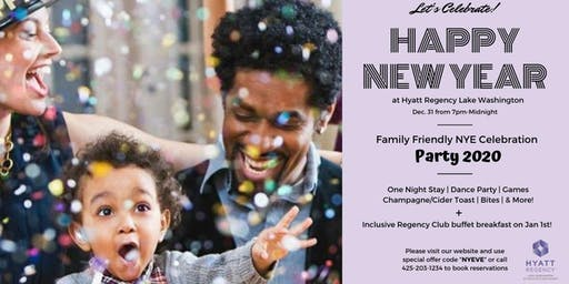 Family Friendly NYE  Party & Stay Package