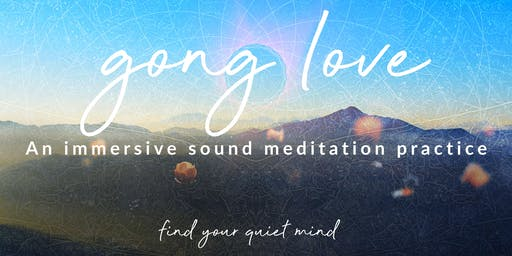 Gong Love - Gong Meditation (Gong Bath, Sound Bath) in Corvallis, Oregon