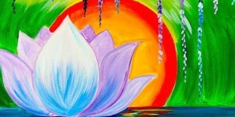 Peaceful Lotus Flower Paint Party tickets