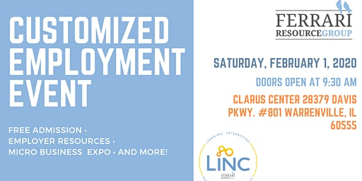 Customized Employment Event