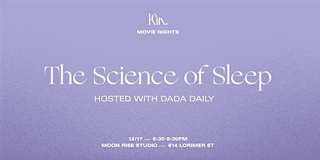 The Science of Sleep Movie Night tickets