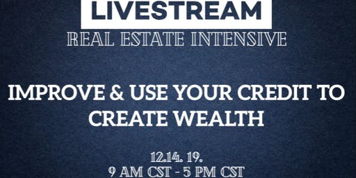LIVESTREAM: Improve & Use Your Credit to Create Wealth - Maui, HI