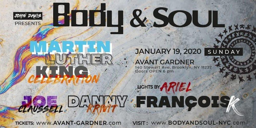 January 19th 2020 Events New York.Body Soul Mlk Celebration Tickets Sun Jan 19 2020 At 6