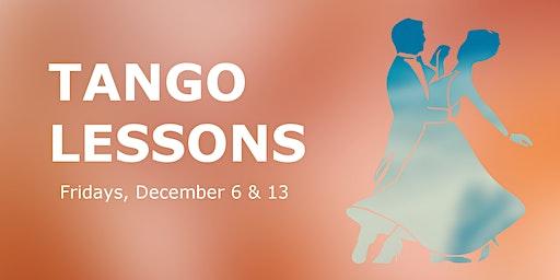 American Tango Lessons (drop-in class - December)
