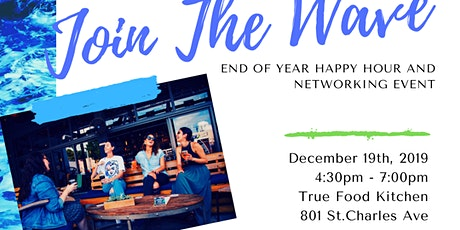 Join the Wave: Holiday Happy Hour tickets