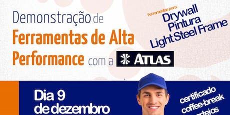 Demonstração de Ferramentas de Alta Performance - ATLAS tickets