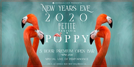 Poppy / Petit Taqueria NYE '20 | NEW YEAR'S EVE PARTY tickets