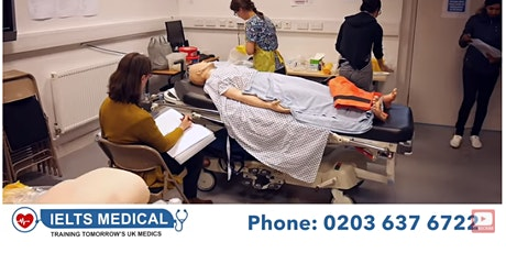 NMC OSCE London hospital review and training - 3 day course (August 1) tickets