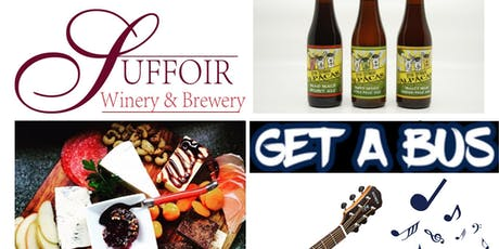 Sip and Graze at Suffoir Winery, Brewery and Cidery tickets