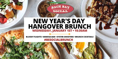 New Year's Day Brunch at Back Bay Social! tickets