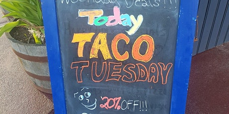 Taco Tuesday 20 %OFF tickets