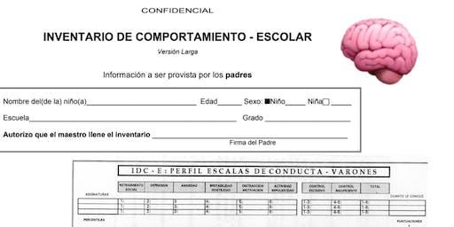 Inventario de Comportamiento Escolar (IDC-E) Versión Larga