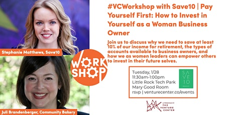 #VC Workshop with Save10 | Pay Yourself First tickets