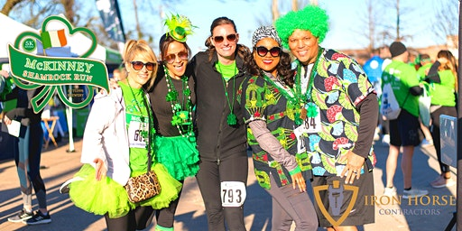 3rd Annual McKinney St. Patrick's Day Festival & Shamrock Run 5k Presented by Iron Horse Contractors