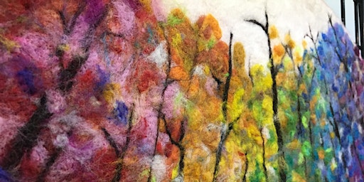 Abstract wet felting