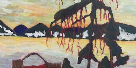 Jack Pine By Tom Thomson - Paint and Sip Night - Snacks Included tickets