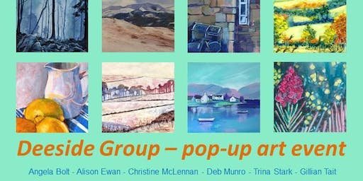 Deeside Group Pop-Up Art Shop