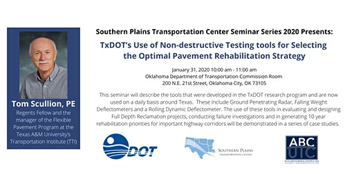 TxDOT's Use of Non-destructive Testing tools for Selecting the Optimal Pavement Rehabilitation Strategy
