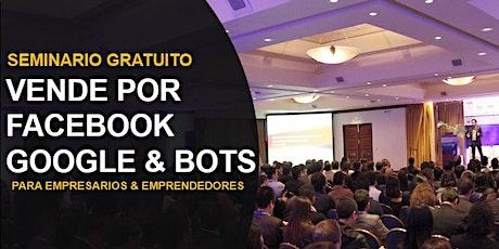 Seminario GRATIS de ventas por facebook para PYMES y EMPRENDEDORES tickets
