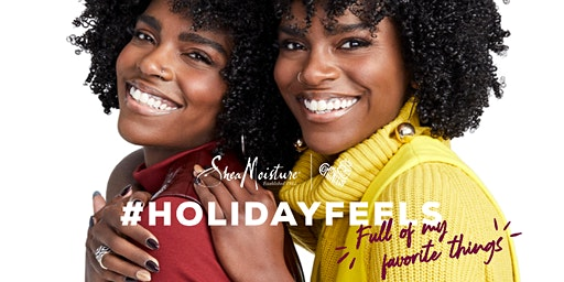 SheaMoisture's Holiday Feels Pop-Up