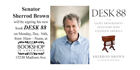 Senator Sherrod Brown Book Signing tickets