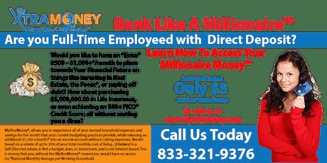 FINANCIAL  WORKSHOP:  Bank Like A Millionaire™ tickets