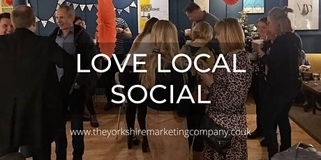 Love Local Social - Spring Drinks & Supper tickets