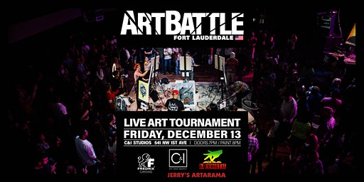 Art Battle Fort Lauderdale - December 13, 2019
