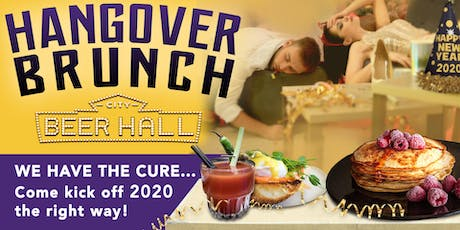 New Years Day Hangover Brunch tickets