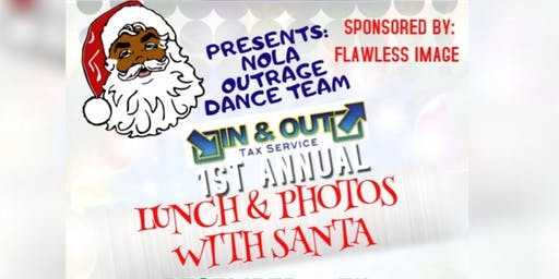 Lunch & Photos with Santa