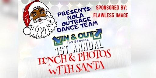 Lunch & Photos with Santa
