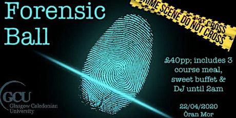 GCU Forensic Ball 2020 tickets