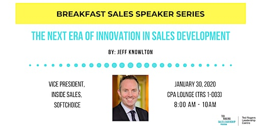 Breakfast Speaker Series - The Next Era of Innovation in Sales Development