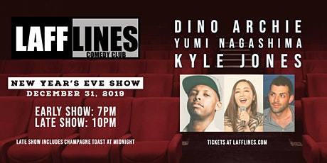 Lafflines NYE with Dino Archie, Yumi Nagashima and Kyle Jones tickets