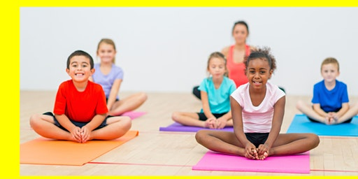 Power Brain Kids Yoga Class Series- Trial Class