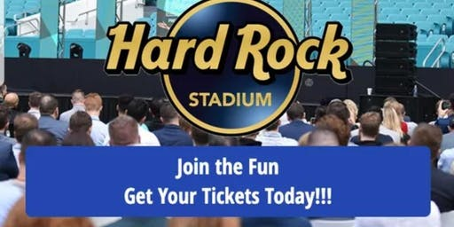 Hard Rock Stadium Championmindset Growth Conference and Expo