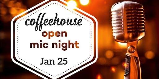 Coffeehouse Open Mic Night