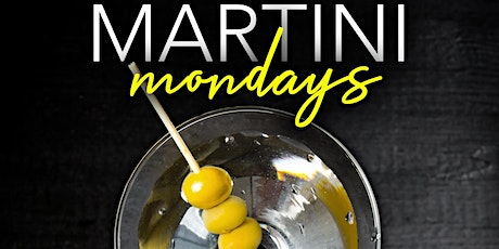 Martini Monday's at Cloakroom tickets