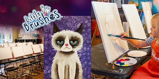 Cattitude - Little Brushes Family Friendly Ages 6+ Welcome!