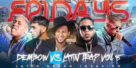 Dembow vs Latin Trap - Latin Fridays at La Revolucion tickets