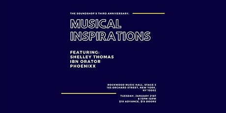 The Soundshop's Third Anniversary Salon: Musical Inspirations tickets