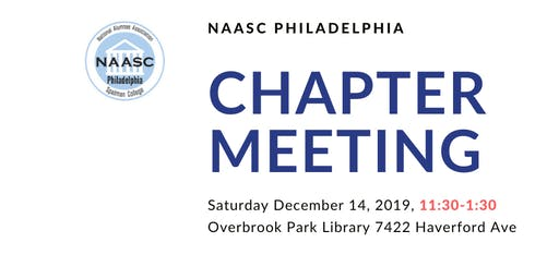 NAASC Philadelphia December Chapter Meeting