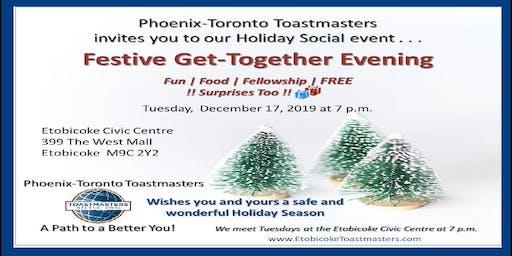 Festive Holiday Social Event