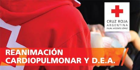 RCP - Reanimacion Cardio Pulmonar 25/01/2020 (09 a 13hs) entradas