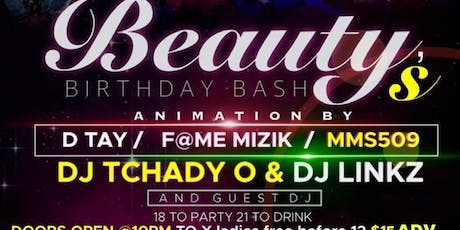 Rosie production &MMS presents BEAUTYS BIRTHDAY BASH tickets