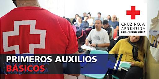 Curso Primeros Auxilios 30hs 01/02/2020 (08.30 a 13.30hs)